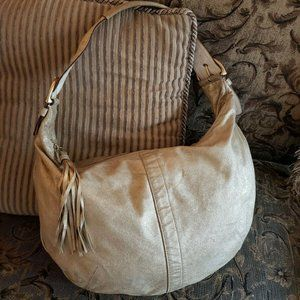 Coach Vintage Soho Gold Leather Hobo Bag